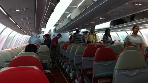 Inside Air Asia