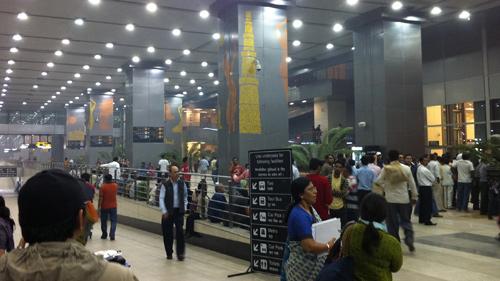 Megah... sayang meninggalkan sisi arsitek khas India