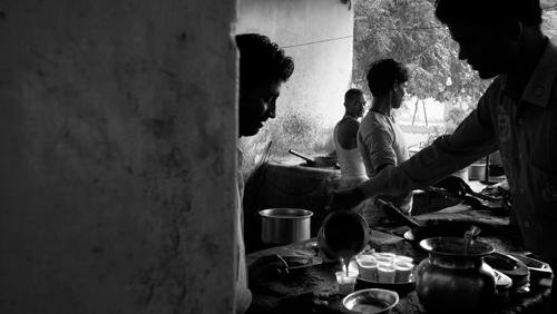 Teh India.., teh + susu kambing