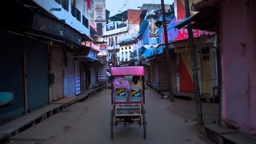 Lorong-lorong kota kampung yang indah