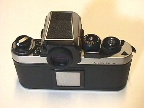 Tampak belakang Nikon F3