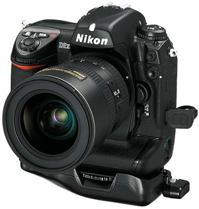 Nikon WT-2 pada era Nikon D2X