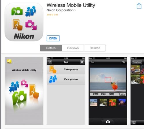Tampilan di iOS App Store