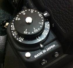 Button ISO 50 tertulis L1.