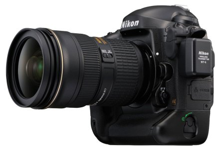 Nikon WT-5 pada era Nikon D4