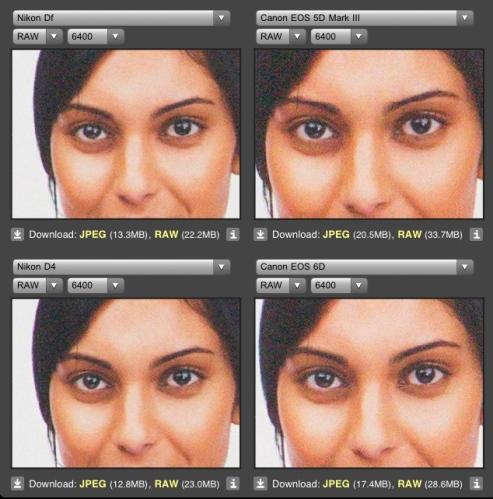 ISO 6400 Nikon DF vs Sony A7R dan Nikon D800