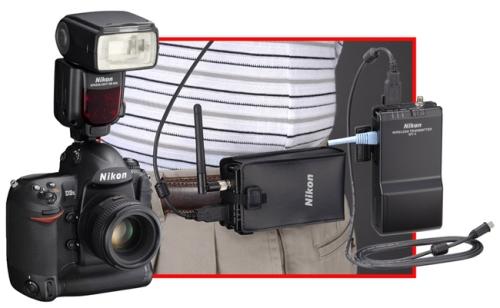 Nikon WT-4 pada era Nikon D3
