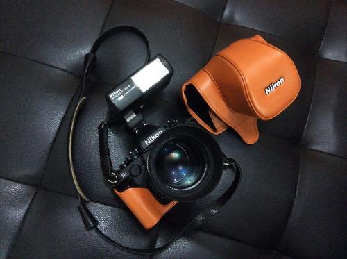 Soft Leather Case Orange  ala Hermes