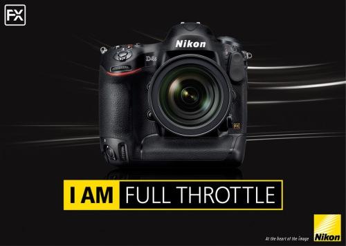 Nikon D4s campaign