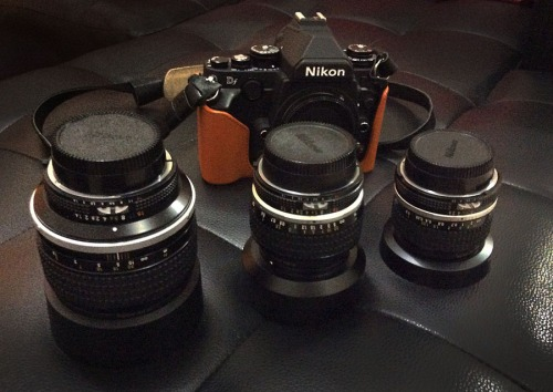 Nikon DF with Nikon AI-s lenses