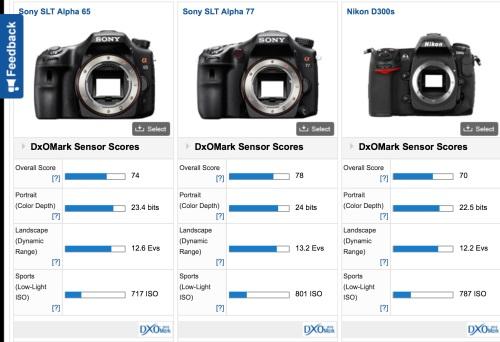 Jika kita bandingkan dengan produser pembuat sensor Nikon, yaitu Sony, score product sejenisnya sudah lebih unggul di market. Dan dengan kata lain Sony sebenarnya sudah menyediakan sensor unggulannya di kelas DX