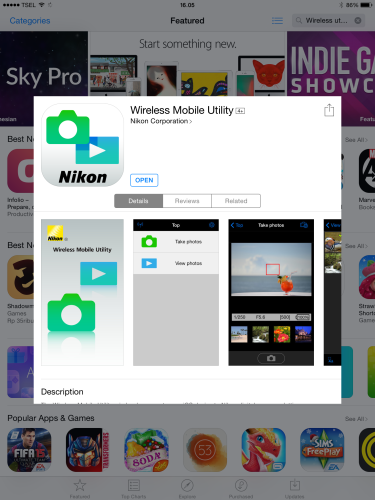 step 1 : download Apps di Ios atau di android