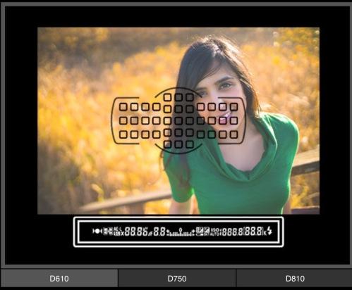 Focus modul Nikon D610