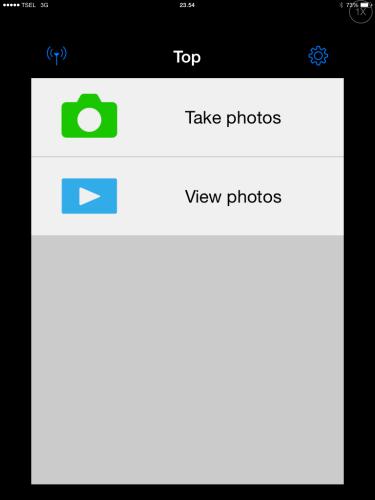 step 3 : apps saat dibuka