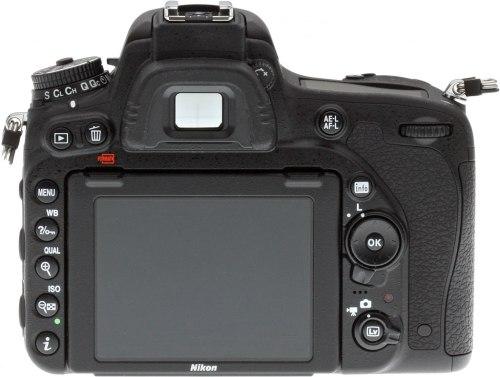 Nikon D750 tampak belakang