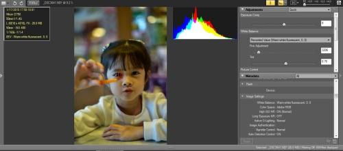 WB Neon Warm-white : Hasil terasa cool atau pucat walaupun terlihat tidak terlalu menyimpang