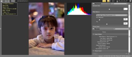 WB Neon White-Fluo : Hasil warna cenderung magenta